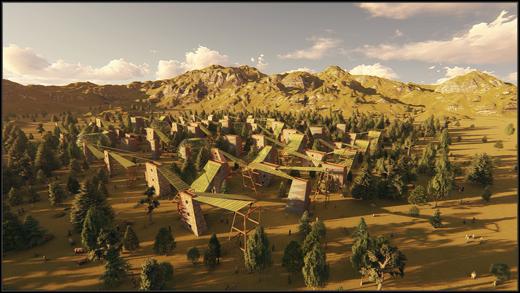 Villaggio per 3000 abitanti